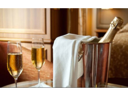 Free accommodation for the Bride & Groom and Prosecco for your toast..