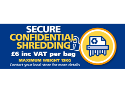 Secure & Confidential shredding
