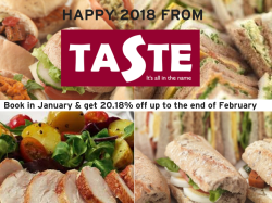 Taste Catering January Offer
