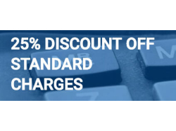25% discount off standard charges. With Kettering Self Store.
