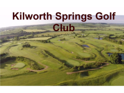 New membership offers for 2017 at Kilworth Springs.