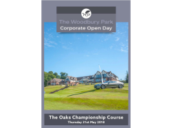 THE WOODBURY PARK CORPORATE OPEN DAY