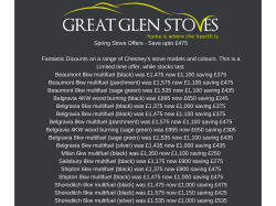 Great Sale From Great Glen