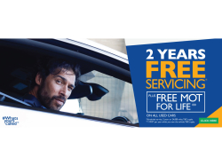 2 Years Free Servicing!