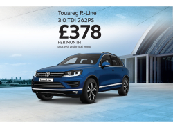 Touareg R-Line, dynamic styling and packed with extras for business!