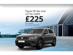 Check out this new Tiguan SE for Business!