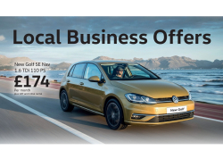 Zip around in a Golf for Business! Look at our Business Offers!