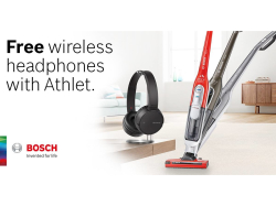 FREE Sony Wireless Bluetooth Headphones with Athlet Cordless Vacuums from Guernsey Electricity