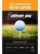 12% OFF ANYTHING IN STORE AT ULTIMATE GOLF WALSALL