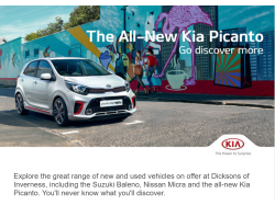 The New Kia Picanto, take a look!
