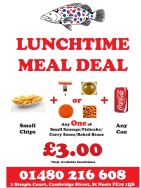 Lunch Time Special Only £3