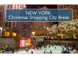 Christmas Shopping in the Big Apple ... oh yes please!01463 649387