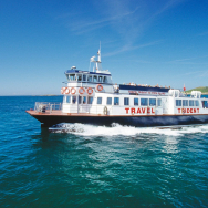 FREE BOAT TICKETS AND CHAMPAGNE IN JULY AND AUGUST AT THE WHITE HOUSE HOTEL ON HERM
