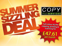 Summer Sizzling Deal from Copy Print Services