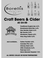 Craft Beers and Cider JUST £4.50 each