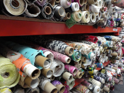 STOCK FABRICS / END OF ROLLS JUST £5 PER METRE