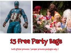 15 Free Party Bags... Limelight Entertainment