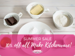 10% OFF ALL 'MAKE' KITCHENWARE at BUMBLES Summer Sale in Ashtead