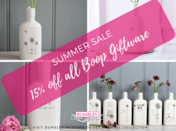 15% OFF ALL BOOP GIFTWARE at BUMBLES Summer Sale in Ashtead