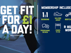 Membership from just £1 a day!