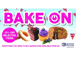 10% off Selected Baking Products