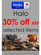 30% off Denby Halo Range