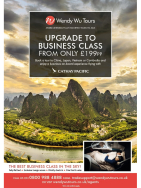 Business Class flights from £199 with Cathay Pacific