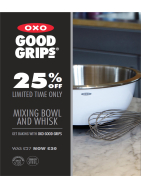 25% off Good Grips Mixing Bowl & Whisk