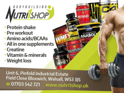GREAT DEALS ON PROTEIN SHAKES AND CREATINE!