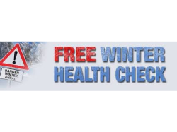 Free Winter Health Check for your car