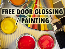 Free glossing / painting of doors