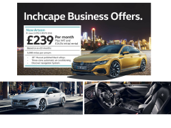 New Arteon R-Line 2.0TSI 190 PS DSG for Business ONLY £239 per month!