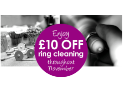 £10 Off Ring Cleaning
