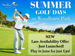 Summer Golf Days: Play 18 holes and then watch the World Cup with us!