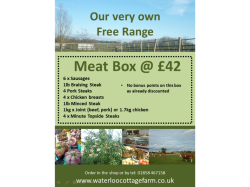 Feed a family of 4 for 1 week with our very own Free Range Meat Box for just £42!