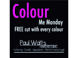 'Colour Me Monday' FREE Cut Offer!