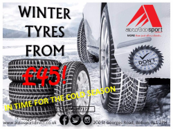 Winter tyres from just £45!