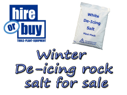 De-icing Rock Salt for Sale from Hire or Buy St Neots