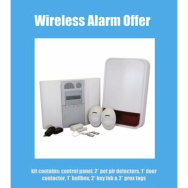 WIRELESS ALARM SYSTEM - SUPPLIED AND INSTALLED FOR ONLY £400!