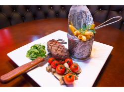 MONDAY - 2 steaks and a bottle of wine just £20