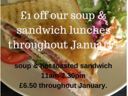 Save £1 on Soup & Sandwich
