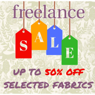 Up to 50% OFF selected fabric rolls at Freelance Soft Furnishings