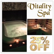 25% off 60 Minute Classic Vitality Spa