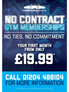No Contract Gym Offer