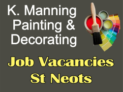 Job Vacancies -  K. Manning Painter & Decorating St Neots