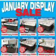 January Display Model Sale - save from £690 - £5850!