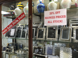 20% Off Marked Prices