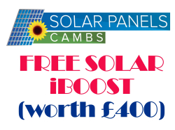 FREE SOLAR iBOOST worth £400