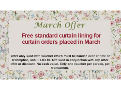 Free Curtain Lining