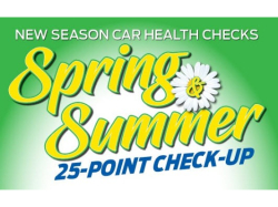 Spring & Summer 25 point vehicle check